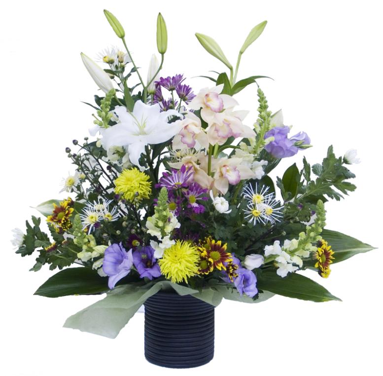 お供え花、枕花1