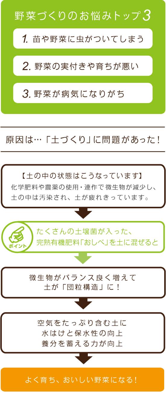 お悩みトップ3